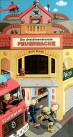 Kinderbuch von Hajo Blank: PopUp-Feuerwehrhaus