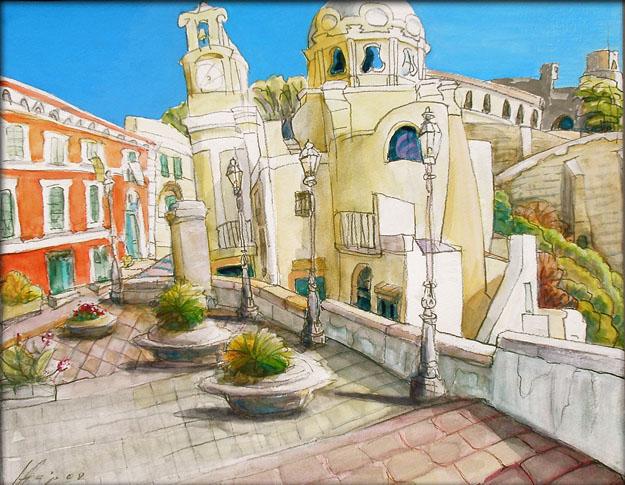 Proccida / Golf von Neapel von Hajo Blank